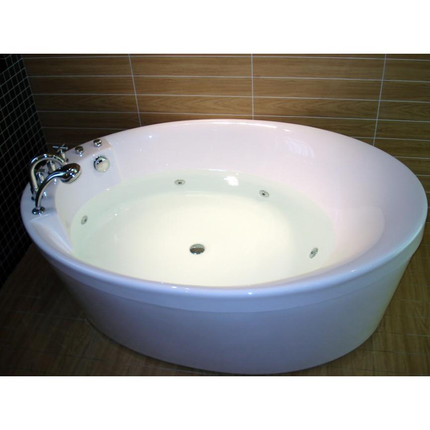 Ma Salle De Bain Baignoire Ilot ~ baignoire lot balneo ovale panermos 170 120 cm baignoire design