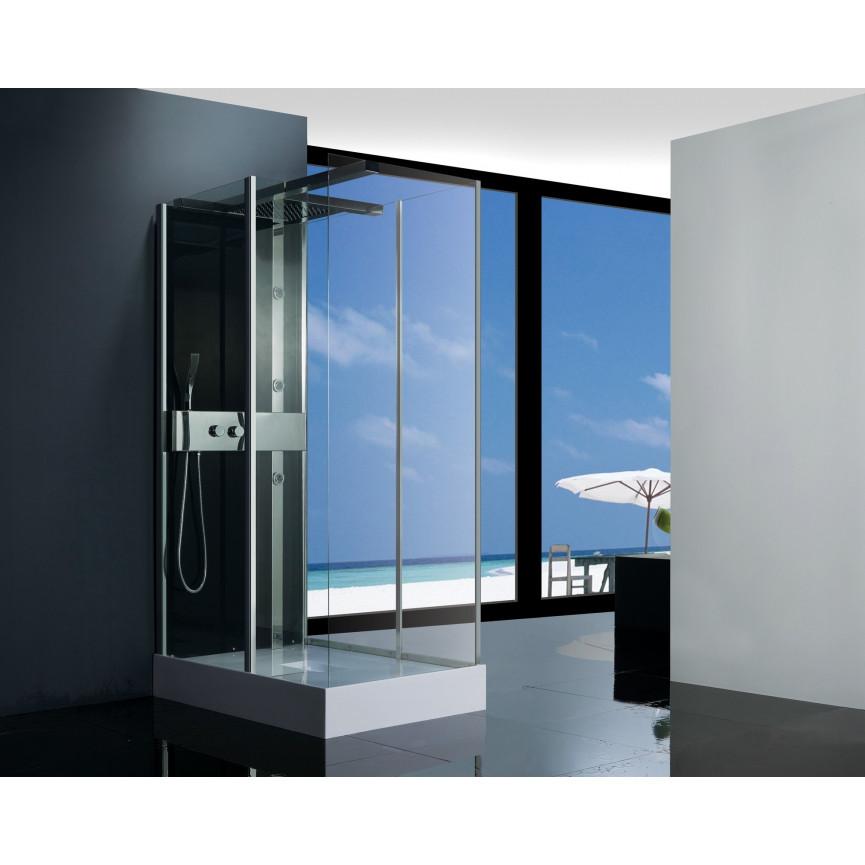 Cabine de douche kalapana 120 80 210 cm cabine de douche salle de bain design - Cabine douche design ...