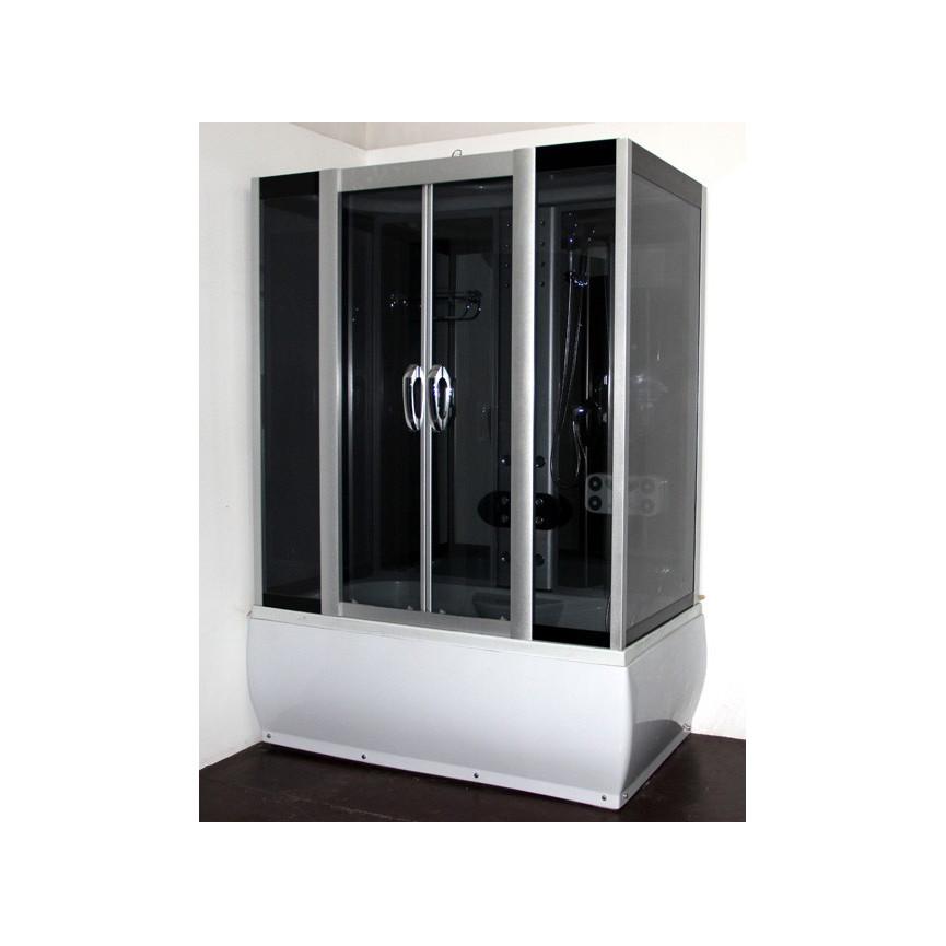 combin baignoire douche symi 160 85 215 cm hydromassage. Black Bedroom Furniture Sets. Home Design Ideas