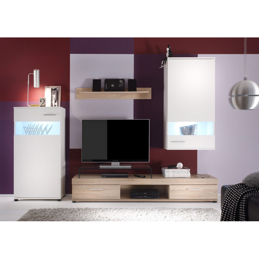 ensemble meuble tv puega d coration s jour. Black Bedroom Furniture Sets. Home Design Ideas