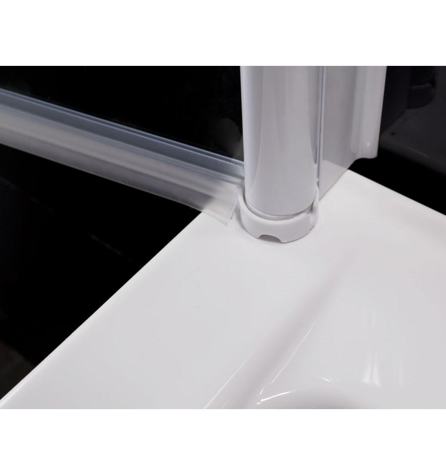 Pare baignoire martina pare baignoire salle de bain - Pare baignoire miroir ...