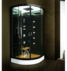 cabine de douche design hydromassante et hammam achat. Black Bedroom Furniture Sets. Home Design Ideas