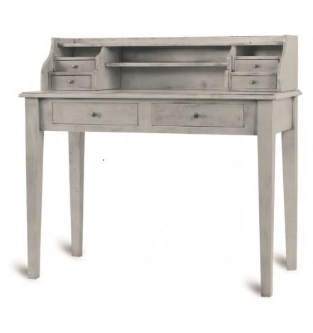 pescara bureau en bois style campagne meuble vintage d coration s jour. Black Bedroom Furniture Sets. Home Design Ideas