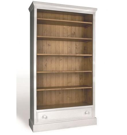 Ugento 1 biblioth que en bois meuble vintage - Meuble bibliotheque bois ...