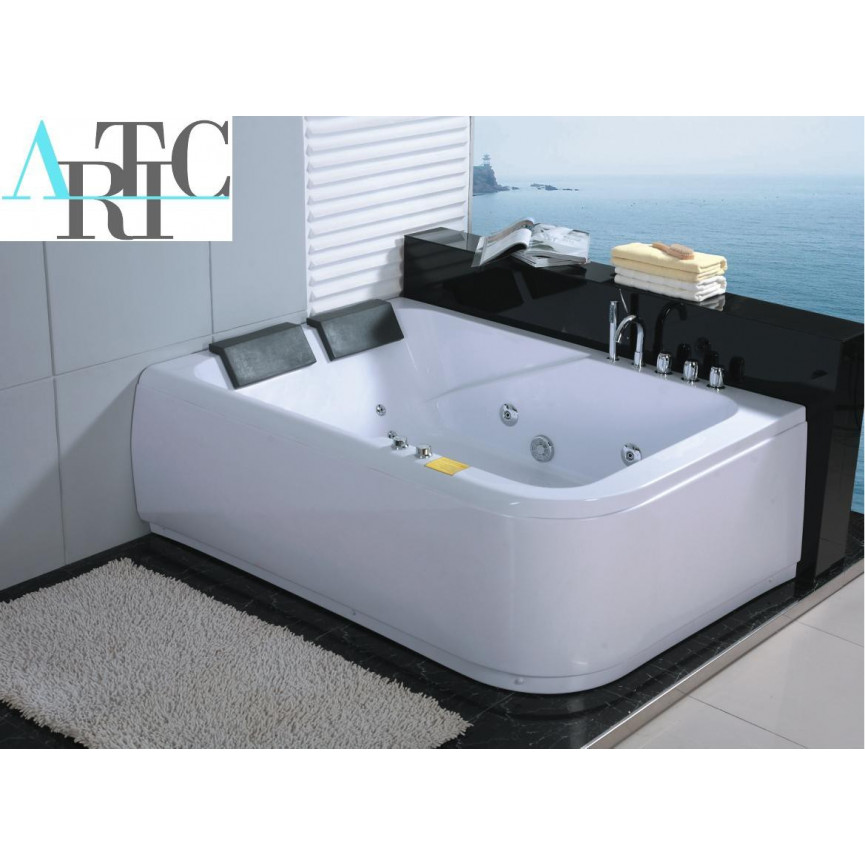 baignoire balneo ios angle gauche 170 120 cm baignoire design mobilier salle de bain. Black Bedroom Furniture Sets. Home Design Ideas