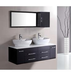 ensemble de salle de bain alcaraz noir - meuble salle de bain ... - Salle De Bain Meuble Noir