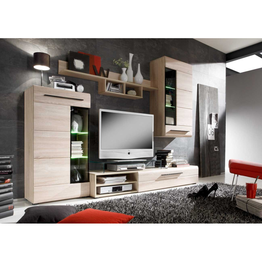 ensemble meuble tv soto d coration s jour. Black Bedroom Furniture Sets. Home Design Ideas