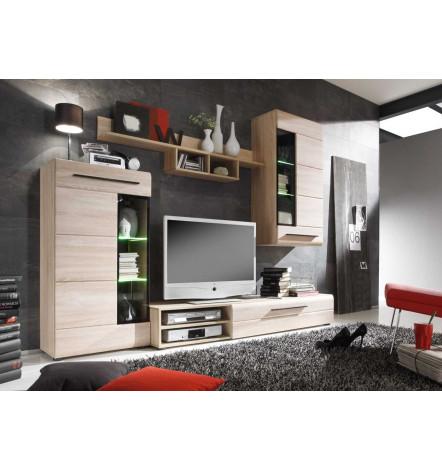 Ensemble meuble tv soto d coration s jour for Meuble tv large