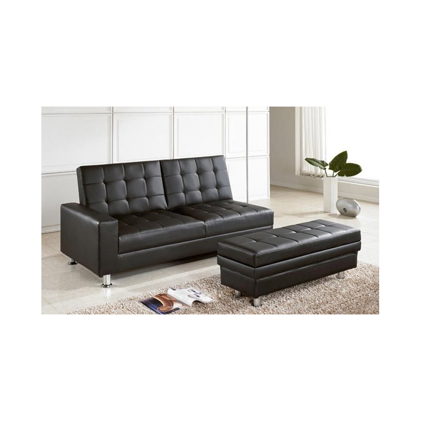 banquette clic clac pardesca noir banquette clic clac design boutique meubles design. Black Bedroom Furniture Sets. Home Design Ideas