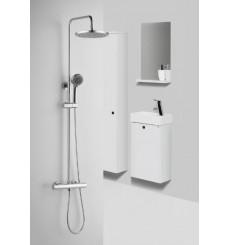 Combiné de douche avec robinetterie intégrée LEIRVIK