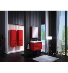 Meuble de salle de bain COMO rouge 60cm
