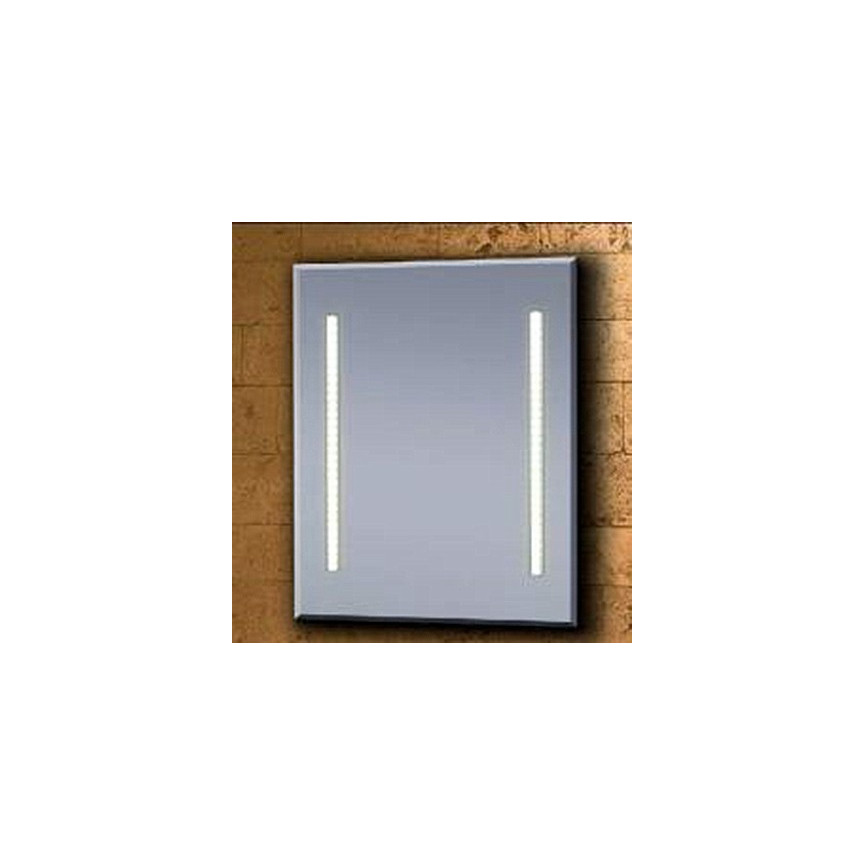 Miroir paola accessoire salle de bain d coration salle for Miroir bois 50 x 70