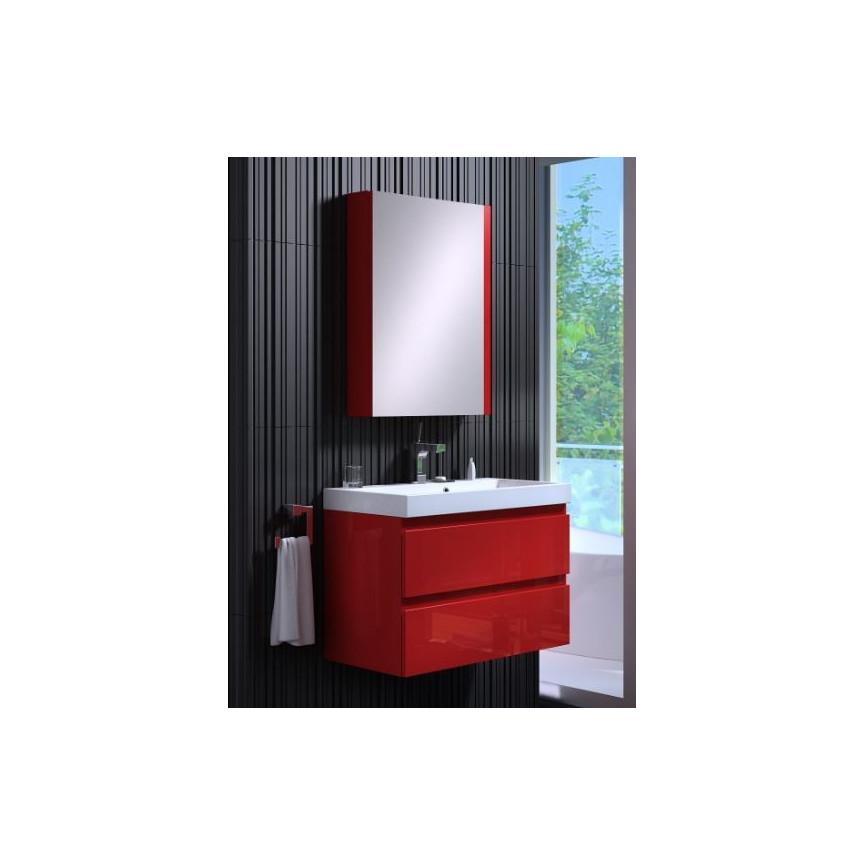 ensemble de salle de bain como 60cm rouge meuble salle de bain une vasque d coration salle. Black Bedroom Furniture Sets. Home Design Ideas