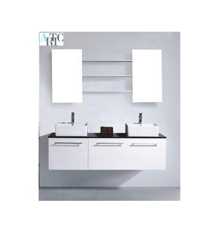 Ensemble de salle de bain CUENCA blanc Meuble Salle de bain