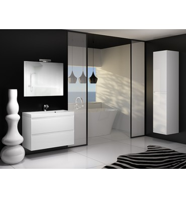 ensemble de salle de bain guadix blanc 60cm meuble salle de bain une vasque d coration salle. Black Bedroom Furniture Sets. Home Design Ideas