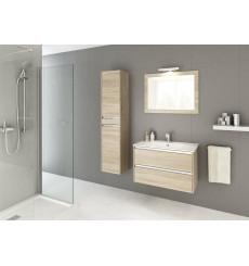Meuble de salle de bain FONTE 60cm, chêne sonoma