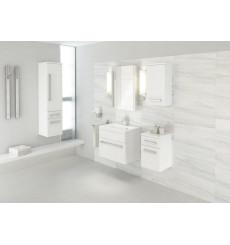 ensemble de salle de bain como 60cm, blanc - meuble salle de bain ... - Salle De Bains Blanche
