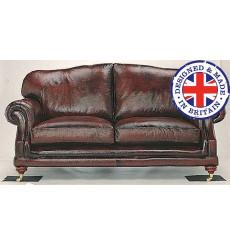 Canapé trois places en cuir CONSORT