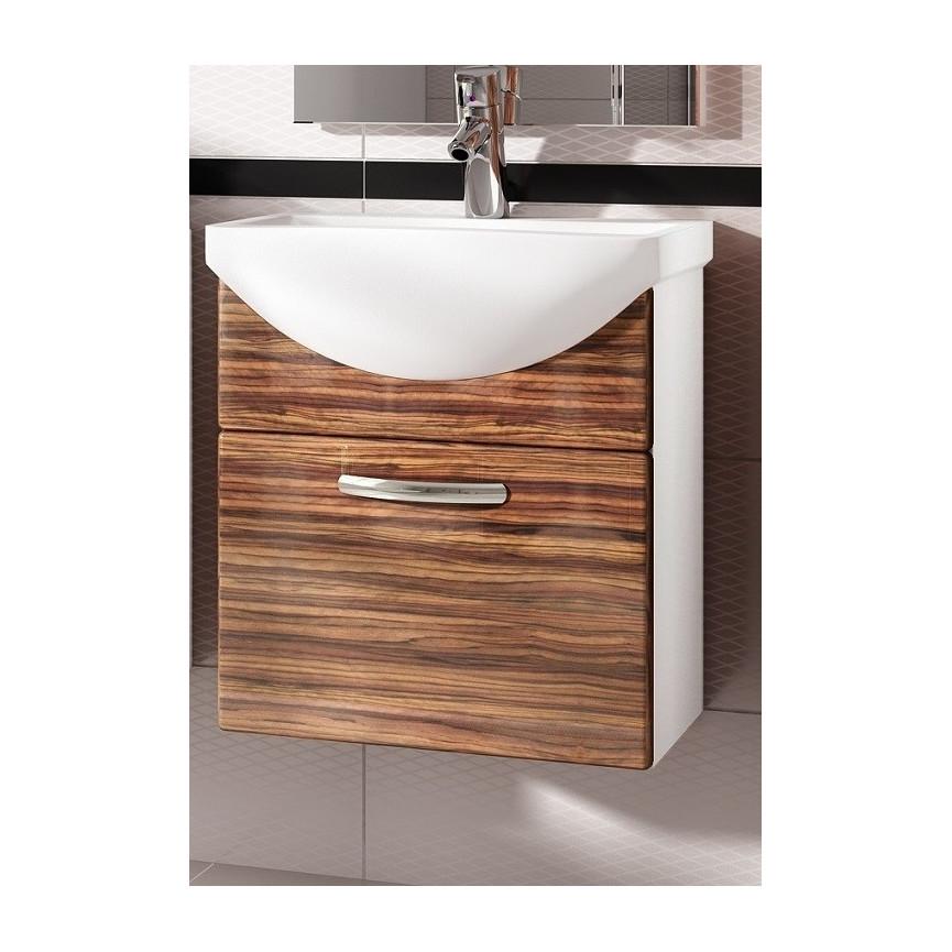 ensemble de salle de bain koral nature 55cm meuble salle. Black Bedroom Furniture Sets. Home Design Ideas