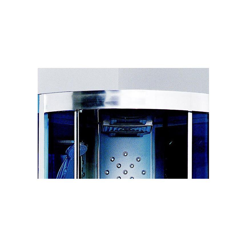 Cabine de douche hammam akrini 90 90 220 cm cabine de douche design mobil - Cabine de hammam en kit ...
