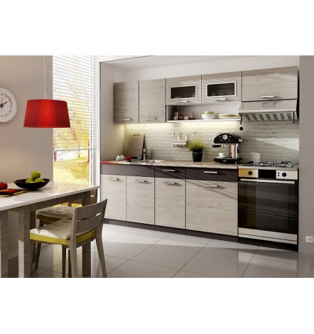 Cuisine MORENO bouleau - cuisine design decoration cuisine