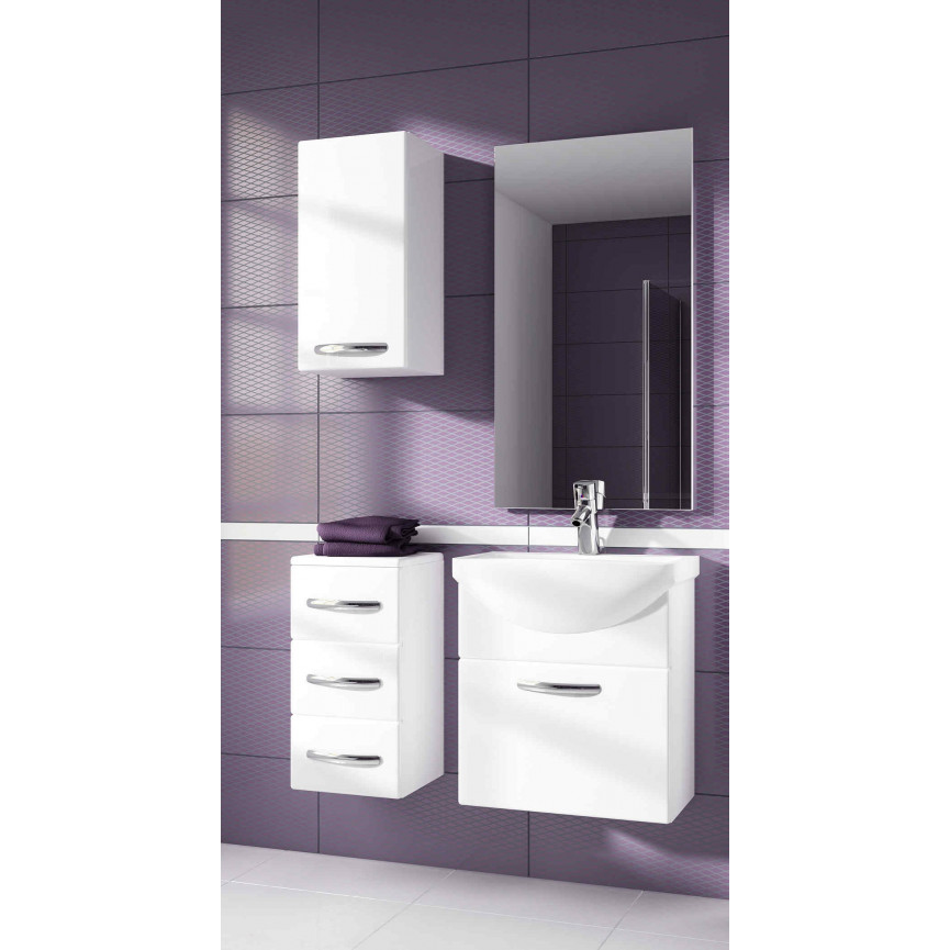 Fic Salle De Bain Lunel ~ ensemble de salle de bain koral blanc55cm meuble salle de bain une