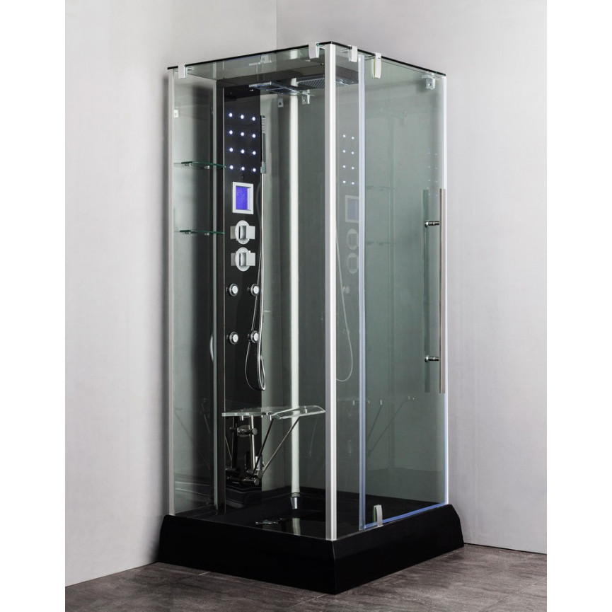 cabine de douche haut de gamme cabine de douche grand luxe la douche 100 plaisir c t maison. Black Bedroom Furniture Sets. Home Design Ideas