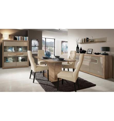 salle manger compl te tiziano. Black Bedroom Furniture Sets. Home Design Ideas