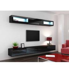Meuble TV VIGO TREND  280, NOIR