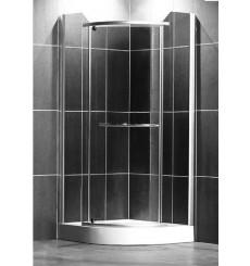 Cabine de douche d'angle DENVER 80/90cm