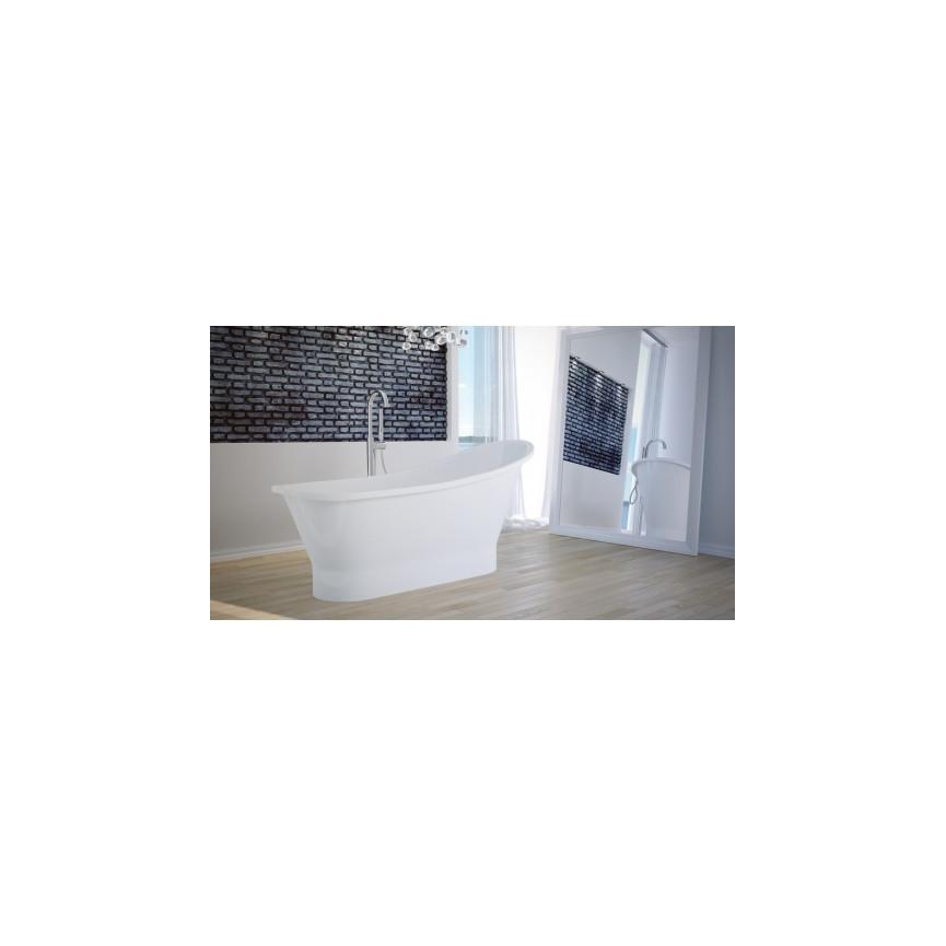 Baignoire Ilot Palao 174 88 Cm Baignoire Design Mobilier Salle De Bain