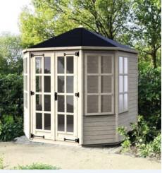 FINLAY pavillon  de jardin 236 x 236 cm