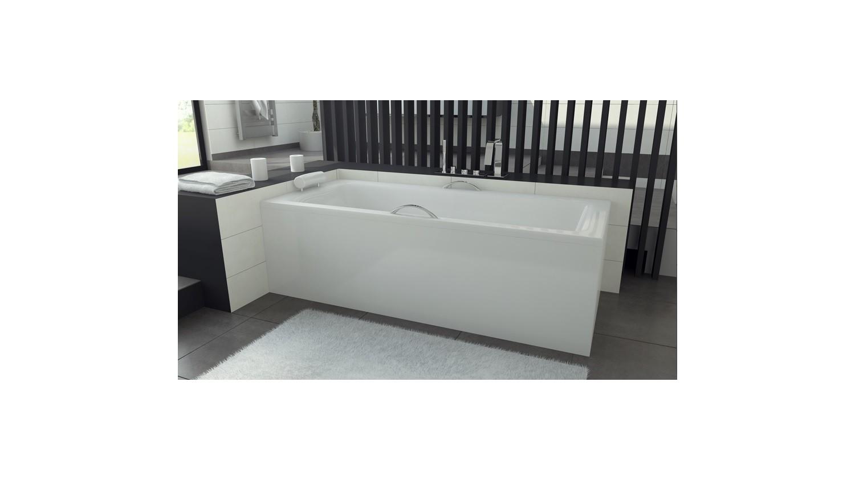 Decoration Tablier De Baignoire baignoire veneto- baignoire design - mobilier salle de bain