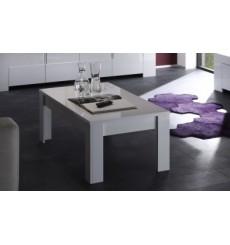 Table basse  ZEOS, 122 cm blanc