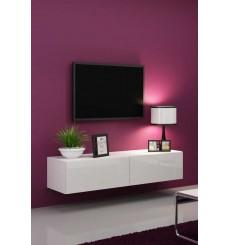 Meuble TV VIGO 140, noir ou blanc
