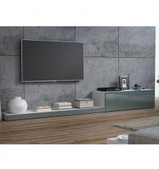 ENSEMBLE MEUBLE TV LIFE II 300CM GRIS