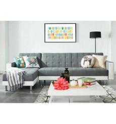 Canapé d'angle SALERNE Grey
