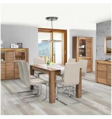 Table extensible VELVET en chêne 160 à 250cm