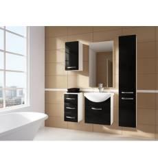 Meuble de salle de bain KORAL noir 55CM