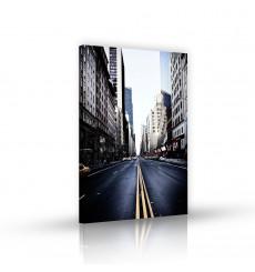 Tableau décoratif  NYC Street   L 100 x H 60 cm - intérieur design, décoration moderne, art abstrait VM47