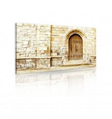 Tableau décoratif Old door L 100 x H 60 cm - intérieur, design, décoration, moderne, art, abstrait, chambre, mur V89