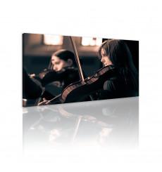 Tableau décoratif Sound of music  L100 x H 60 cm - intérieur design, décoration moderne, art abstrait j126