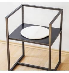 Tableau décoratif It's always coffee time  L 100x H 60 cm - intérieur design, décoration moderne, art abstrait C200