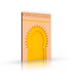 tableau décoratif Morocco architecture L 100 x H 60 cm - art moderne, intérieur abstrait design M271