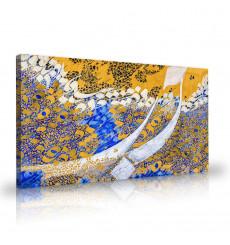 Tableau décoratif ASILAH Mural painting L 100 cm x 60 cm C286