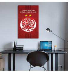 Tableau décoratif WAC L 50 x H 90 cm - Wydad, intérieur décoration, art, chambre, mur