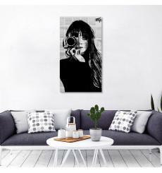 Tableau décoratif beautiful Photographer L45 x H100 cm - intérieur design, décoration moderne, art abstrait