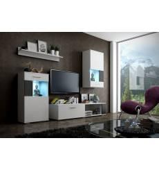 Tableau décoratif Front doors L100 x H100 cm - interieur design salon abstrait art salon V456