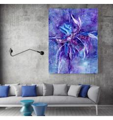 Tableau décoratif Spirit of water color L 60 x H 100 cm - interieur design abstrait moderne art