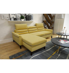 Canapé d'angle convertible et reversible IMPERIA 242 x 168 cm